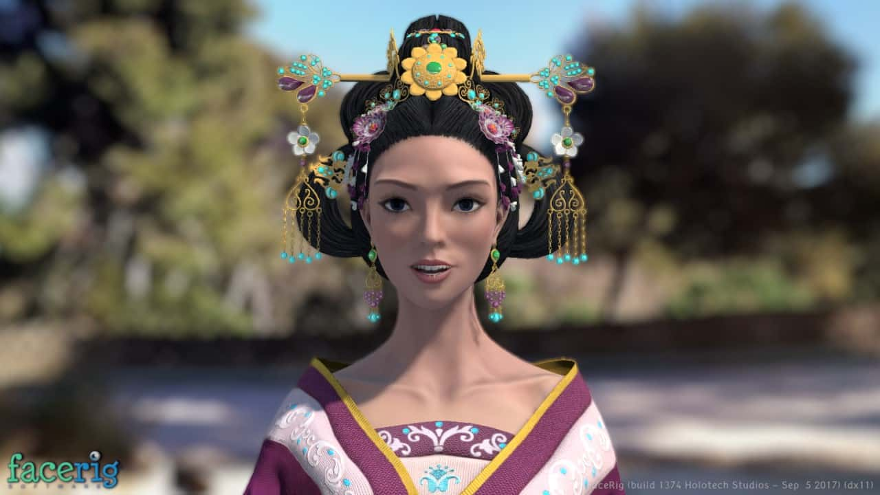 Princess Zhi Shi FaceRig